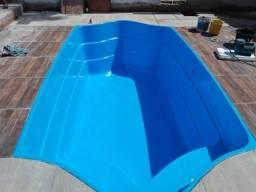 Pintura de piscinas e banheiras