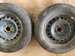 Rodas com pneu 15 pirelli scorpions zero