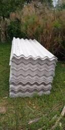 Vendo telhas fibrocimento 6mm 1x2,44