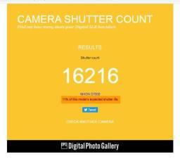 Nikon D7000 ( 16 mil clickcs ) + 18x125mm