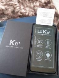 Celular LG k8 plus zerado