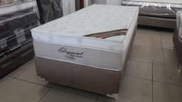 Promoçao Cama Box Ortobom Solteiro elegant 88x188 A Pronta Entrega
