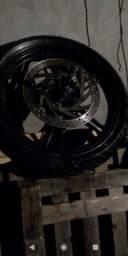 Vd pneus dianteiro da fazer 250