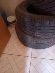 Vendo quatro pneus 265/60 18. Da s 10.