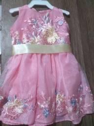 Vestido festa de 1 ano