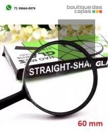 Título do anúncio: Lupa de Vidro Capo Plástico Lente Aumento Zoom 60mm FUY-31