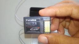 Receptor futaba original r617fs novo top de linha