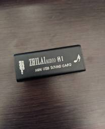Mini Usb Placa de Som