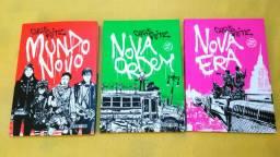 Livros - Trilogia Mundo Novo (3 volumes)