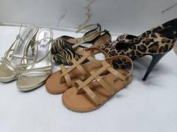 Lote sapatos femininos