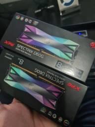 Memória RAM 8GB DDR4 3000MHZ RGB D60G / D60 XPG