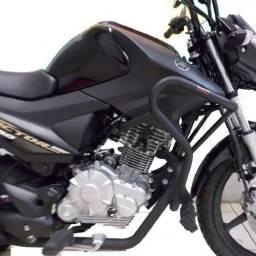 Protetor Motor Coyote Factor 150 Fazer 150 Pm018 Preto. (Entrega Grátis)