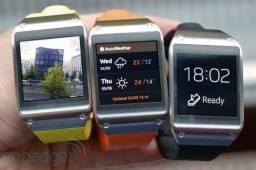 Samsung Galaxy Gear Smartwatch 4358 com kit dock e carregador turbo