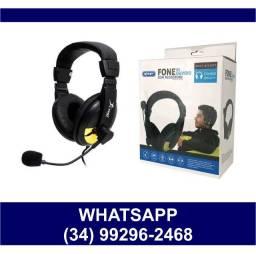 Entrega Grátis * HeadSet Fone para Computador com Microfone KP-320