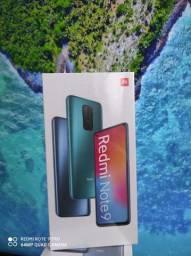*#EXTRAORDINÁRIO#* Redmi Note 9 da Xiaomi.. Novo LACRADO.. Com garantia e Entrega
