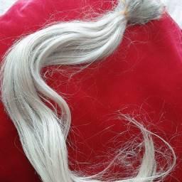 Mega Hair loiro cabelo humano