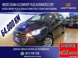 Hyundai HB20S Sedan 1.6 Comfort Plus Automático Completo Só 64.000 Km