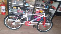 Bicicleta infantil aro 20,aceito cartão