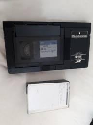 Adaptador Fita Vhs-C Adaptador Mini Vhs Adaptador de Fita de Vídeo Cassete K 7