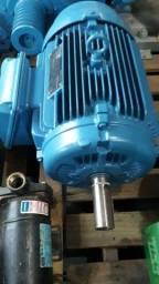 Motor elétrico trifásico 25 cv rpm 1740.