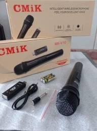 Microfone sem fio/atacado e varejo entrega em jp e região