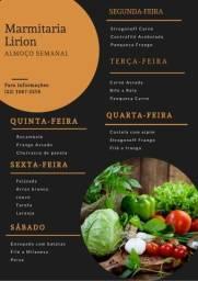 Marmitex comida caseira