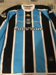 Camisa Grêmio Kappa 2003 CENTENÁRIO