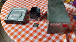 I5 650 3.20 GHz, cooler, gravador de dvd, estabilizador e HD de brinde