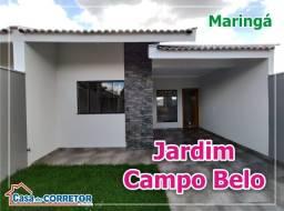 VENDA | Casa, com 3 quartos em Jardim Campo Belo, Maringá