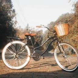 Bicicleta estilo vintage