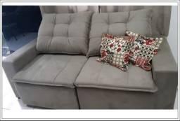 Título do anúncio: Estofado Débora Retrátil com Pillow - pronta entrega