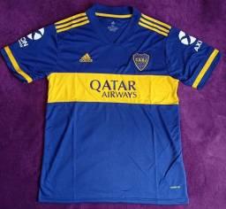 Camisa do Boca Juniors (disponível: G e GG)
