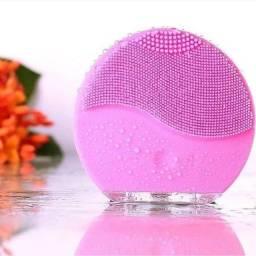 Esponja Elétrica Massageadora Esfoliante Para Limpeza Facial Forever