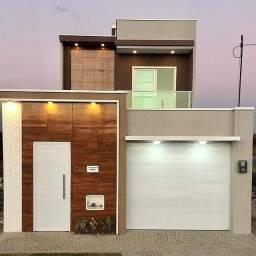 Casa Dúplex  em rua privativa com fino acabamento no Eusébio