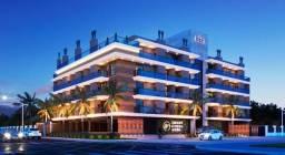 Cobertura duplex 3 quartos sendo 2 suítes frente p o mar - Baln. Costa Azul