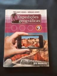 Expedições Geográficas 9 - Editora Moderna - Melhem Adas e Sérgio Adas - 1° edição