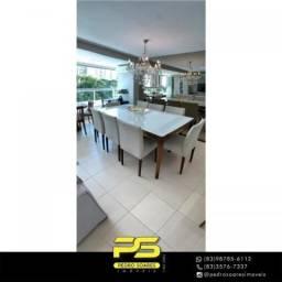 Título do anúncio: Apartamento com 3 dormitórios à venda, 125 m² por R$ 870.000 - Altiplano Cabo Branco - Joã