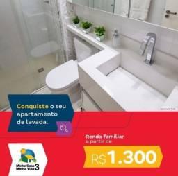 More na Regiao do Passare entrada 72 vezes renda 1.300 Reais Apartamentos 2 quartos