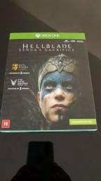 Vendo jogo Hellblade lacrado para Xbox One.