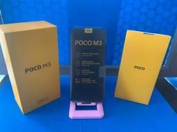 Poco M3 4gb 128gb R$1400 à vista