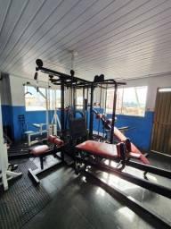 Estação gladiador musculação LEIA O ANÚNCIO