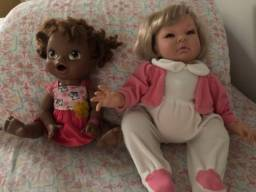 Bonecas - baby alive e bebê reborn