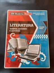 Box Literatura Tempos, leitores e leituras - Editora Moderna Plus 2014