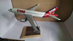 Avião de resina TAM
