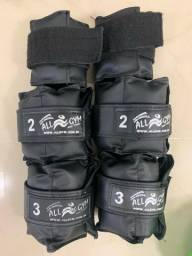 Kit Caneleiras reforçadas 1, 2 e 3 kg