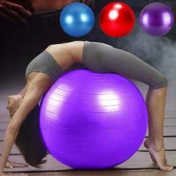 Bola Suíça Ginástica Pilates Yoga 65cm Gim Ball Fisioterapia Fitness