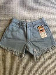 Shorts jeans novo