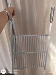 Grelha de Alumínio (modelo Uruguaia)