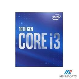 Processador Intel Core i3 10100 Socket 1200 Novo Lacrado com garantia