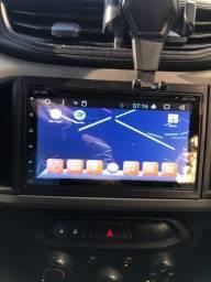 Central multimídia Android 6.0 do Onix ou pra todos carro que a entrada e 2DIM